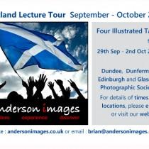 Scottish Lecture Tour 2014