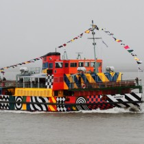 Dazzle On The Foggy Mersey