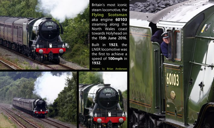 Capturing the iconic Flying Scotsman