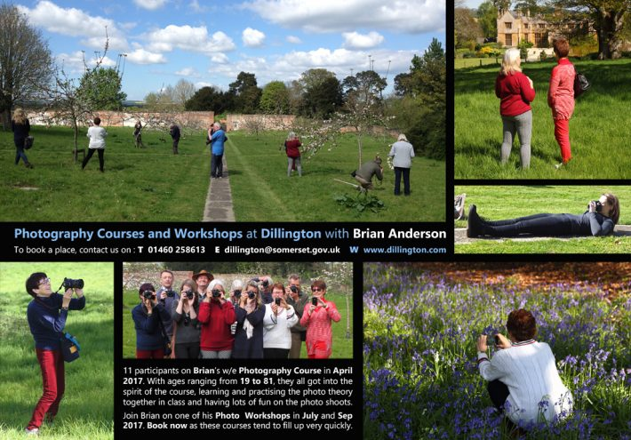 Spring 2017 Photography Course at Dillington